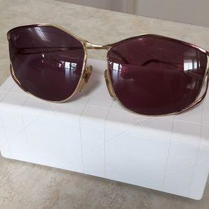 Authentic Vintage Dior Rose Gold Sunglasses Box